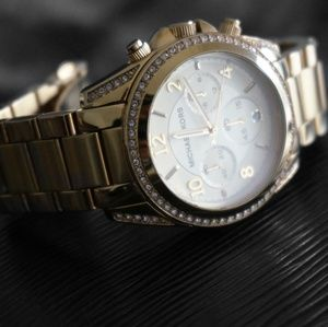 Michael Kors Women's Blair Gold Watch